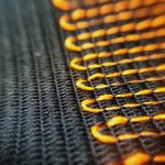 Textil in Macroansicht